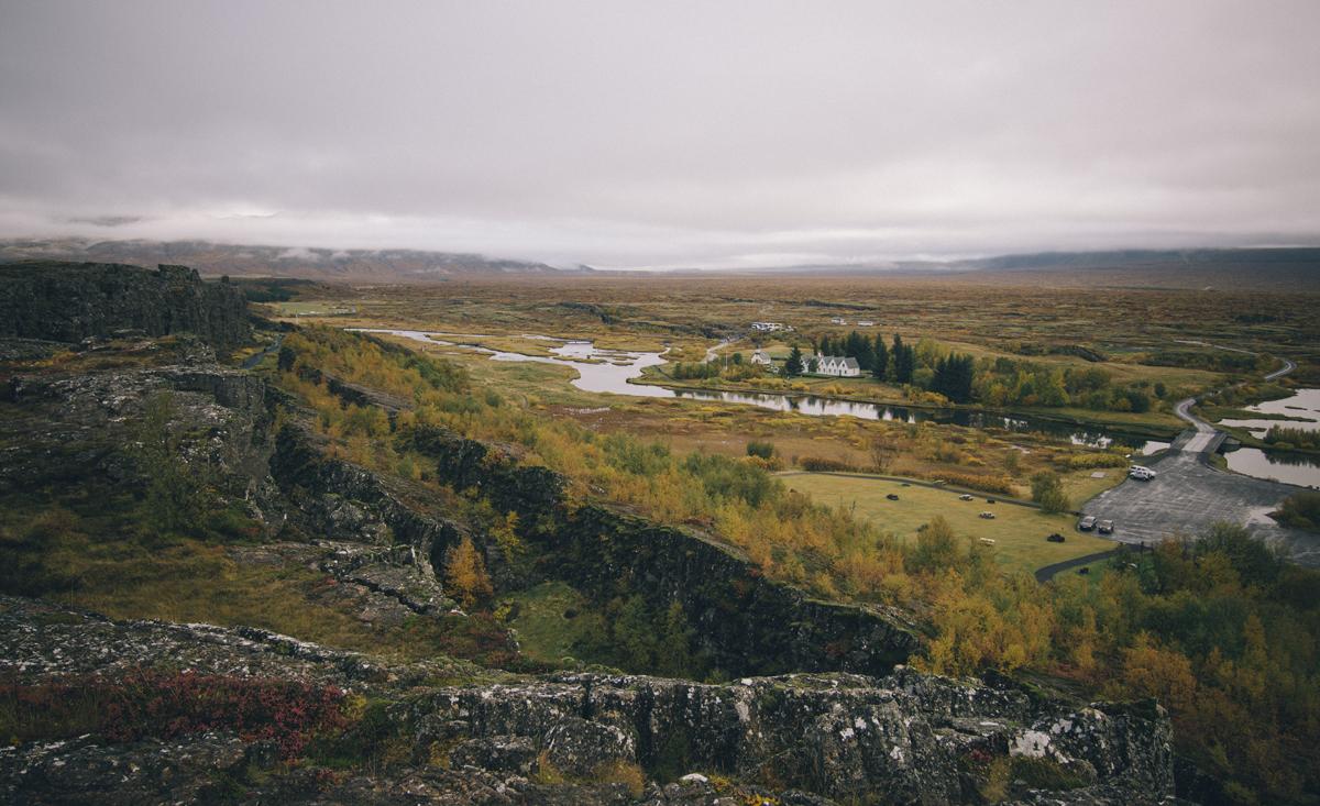 Valle de Thingvellir (Parque Nacional de Þingvellir)