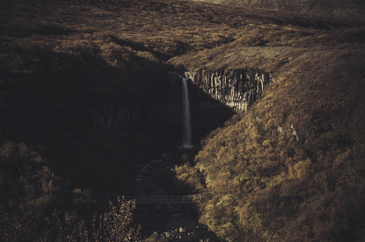 Svartifoss (cascada Negra)